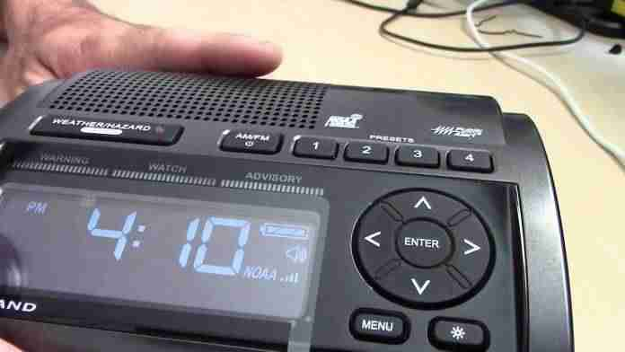 RunningSnail NOAA Weather Radio for Emergency Review