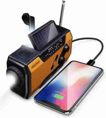 Fos Power emergency radio