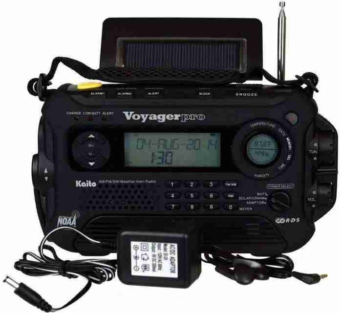 What is the best emergency radio?