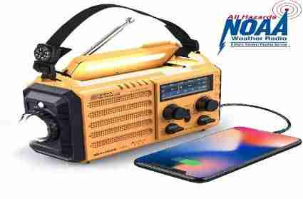 Weather Radio Raynic Solar Hand Crank Emergency Radio AM/FM/SW/NOAA Review