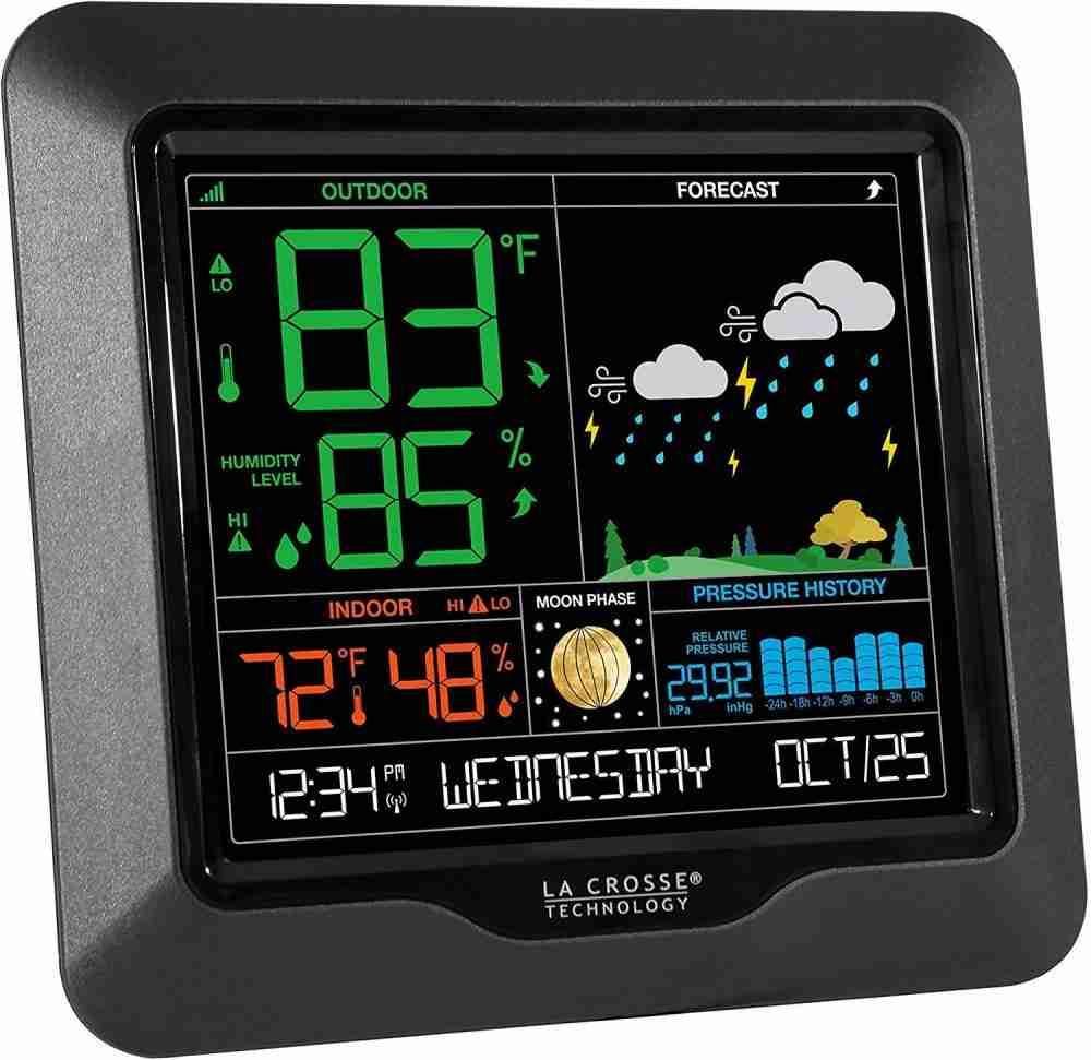 La Crosse Technology S84107 Color Forecast Station