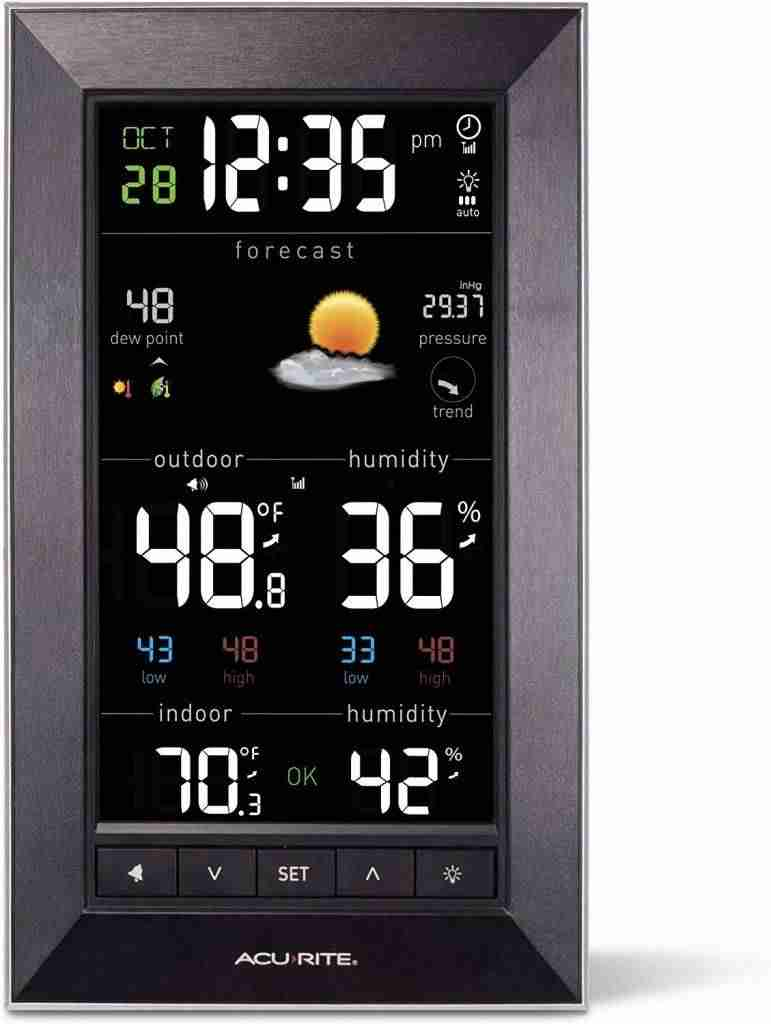 AcuRite Vertical Color Weather Station