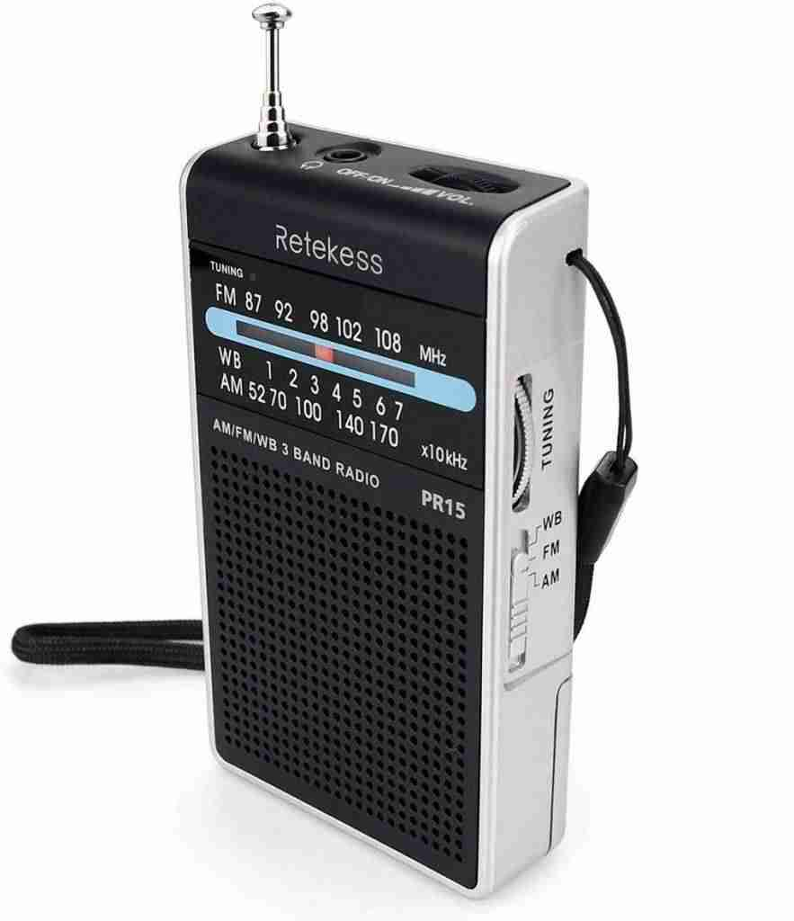 Retekess PR15 Weather Radio NOAA Emergency Radio