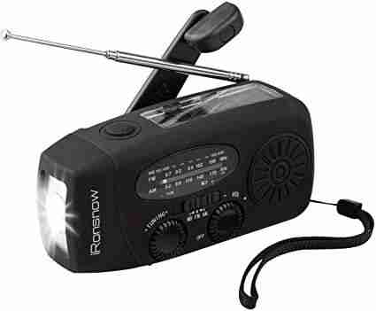 iRonsnow IS-088+ Solar Hand Crank Radio