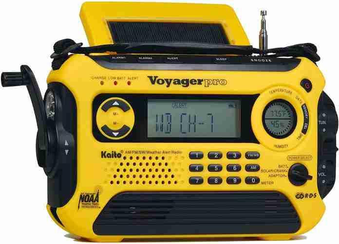 Kaito Voyager Pro KA600 Digital Solar Dynamo Crank