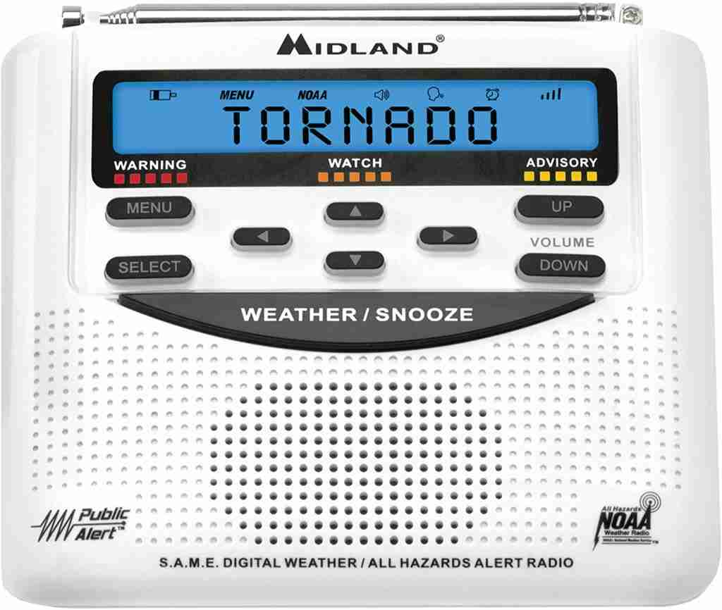 Midland WR120 Weather Alert Radio