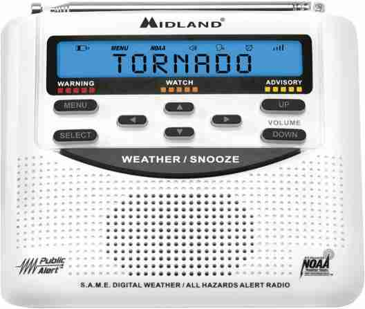 Midland WR120 Weather Alert Radio