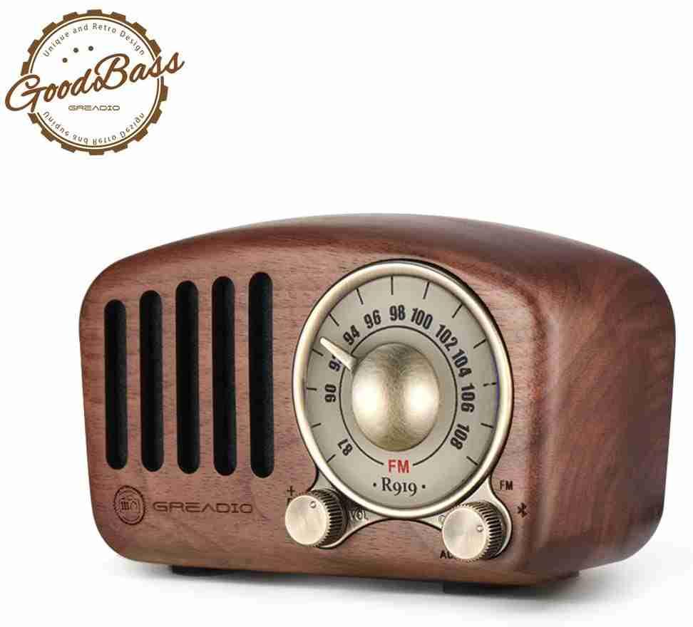 Retro Radio Bluetooth Speaker